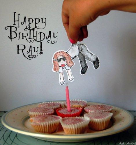 'Birthday Ray' by Ali Bow