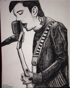 'Frank Iero' by Ava Pierce