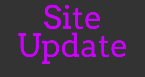 Site Update copy