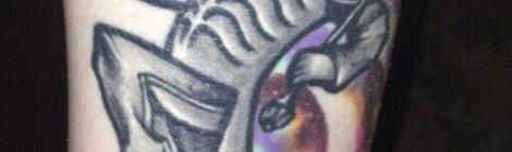 Tara O'Leary Welcome to the Black Parade Tattoo